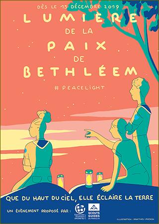 La lumière de la Paix de Bethléem