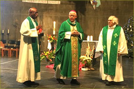 Visite pastorale de Mgr Luc Ravel dans la Zone de Mulhouse